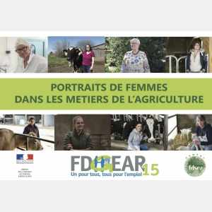 Portraits d'agricultrices